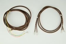 Cloth Covered Telephone Cords - Candlestick Receiver & Line - Brown - SKU- 24094