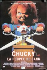 R266 CHILD'S PLAY 2 Belgian '91 great image of Chucky cutting jack-in-the-box