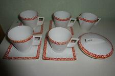 "10x GMUNDNER Keramik "" Selektion""orange - praktisch neuwertig"