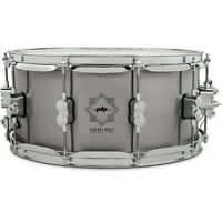 PDP by DW Concept Select Steel Snare Drum 14 x 6.5 in., Steel 194744176005 OB
