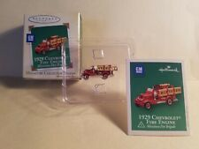 Collectable 1929 CHEVROLET FIRE ENGINE from Hallmark (2004)
