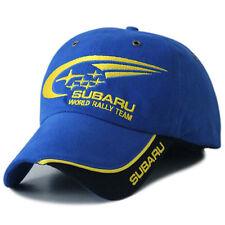 Subaru Rally Racing Blue 4WD Baseball Golf F1 Trucker Women Gents mesh Cap Hat