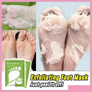 Feet Peeling Exfoliating Foot Mask Socks Remover Hard Callus Dead Skin Cuticles