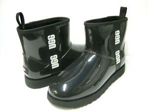 UGG CLASSIC CLEAR  MINI WOMEN ANKLE BOOTS BLACK US 9 /UK 7 /EU 40