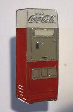 COCA-COLA PIN Vending Machine Lapel Tie Tac 1994 Cavalier Enameled Brass Coke