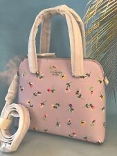 KATE SPADE NWT MEDIUM DOME SATCHEL BAG PURSE MAISE WILDFLOWER DITSY