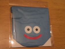 SQUARE ENIX DRAGON QUEST BLUE SLIME MINI DRAWSTRING COIN/DICE BAG - NEW SEALED