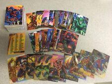 1995 MARVEL FLEER ULTRA SPIDER-MAN  COMPLETE 150 CARD SET Plus MISC  DOUBLES
