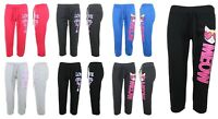 WOMENS CASUAL SWEATPANTS JOGGERS FLEECE HOUSE PANTS GYM WORKOUT YOGA S-3X