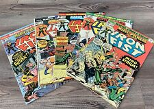 Marvel Premiere 20 22 23 24 25 Iron Fist 1975 1 Owner High Grade VF/ NM Lot of 5