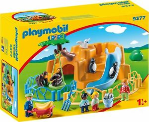 Playmobil 9377 1.2.3 Zoo with Penguin Enclosure NEW