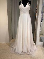Designer Wedding Dress, Blush by Hayley Paige, Cosmos, A-line Ivory, US6/UK8,NEW