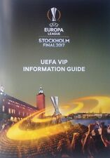 2017 AJAX v MAN MANCHESTER UNITED UTD EUROPA LEAGUE FINAL VIP INFORMATION GUIDE