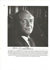 More details for 11x 8   hand signed magazine page , neil kinnock  - aftal  - undedicated
