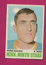 1970-71 OPC  # 48 NORTH STARS NORM BEAUDIN ROOKIE EX+ CARD (INV#4342)