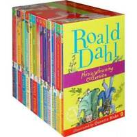 Roald Dahl 15 Book Box Set (Slipcase) Includes Matilda, Witches, The Twits, Fant
