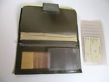 Rolfs VTG Gray Wallet Cowhide Photos Checkbook Credit Cards Change Purse