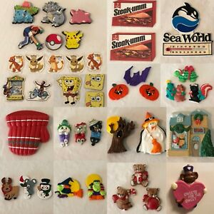 Refrigerator Magnets Vintage Fridge Halloween Christmas Kids Avon GIFTCO Choice