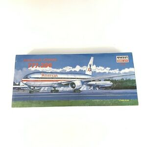 Minicraft American Airlines 777-200 1:144 Scale Model Airplane #14472 NEW