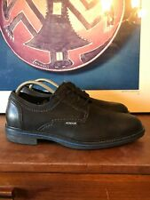 MEPHISTO Air-Jet Black Leather Perceval 5200 Lace Up Shoes Mens 9 US 8.5 EU $398