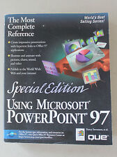 Using Microsoft Power Point 97 Special Edition 1997  L#420