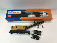 2 HO ROCO 200 TON TRAIN CRANE CARS SOO LINE GOOD MILWAUKEE ROAD FOR PARTS