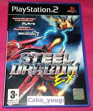 STEEL DRAGON SONY PS2 VERSION PAL UK BON ETAT