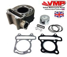 Top End Piston Barrel Cylinder 125cc Kit GY6 For Sinnis Harrier 125 ZN125T-22