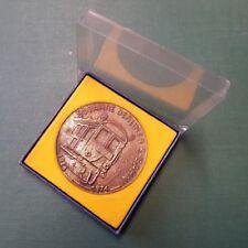 DDR Medaille - Ehrengeschenk - 50 Jahre Berliner S-Bahn - Reichsbahndirektion