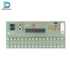 Dual Channel Level Indicator 16 LED MCU Adjustable Display Pattern LED VU Meter