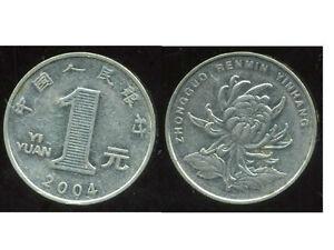 CHINE  1 yuan  2004