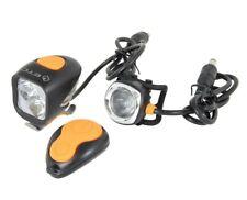 ETC Mizar 2000Lm Handlebar and Helmet Front Cycle Light Combo RRP £120