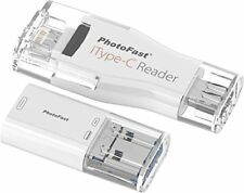 PhotoFast iType-C Reader 4-in-1 Lightning & USB-C incl. USB &  Micro USB Adapter