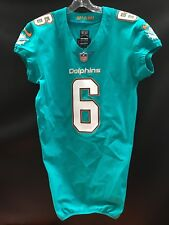 #6 JAY CUTLER ??? MIAMI DOLPHINS TEAM ISSUED NIKE JERSEY YEAR-2017 SZ-42
