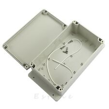 Plastic Waterproof Electronic Project Box Enclosure Cover CASE 200x120x75mm