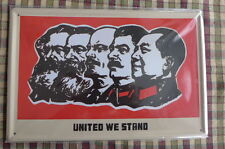United We Stand Metal Sign Painted Poster Garage Superhero Wall Decor Art *