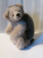 "artist made adorable Mohair 7"" Hedgehog jointed no quill's PRISTINE NEW CONDITIO"