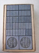 Vintage Acme Type Foundry Handy Packet Printing Type