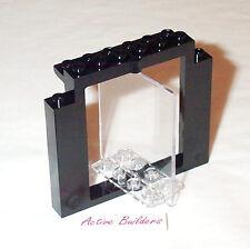 Lego Door Frame and Transparent Swivel Panel 1370 Glass