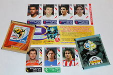 Panini WC WM Germany 2006 06 – SET SATZ 7 EXTRA UPDATE STICKERS + Tüten MINT!