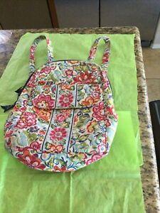 Vera Bradley Mini Floral Backpack