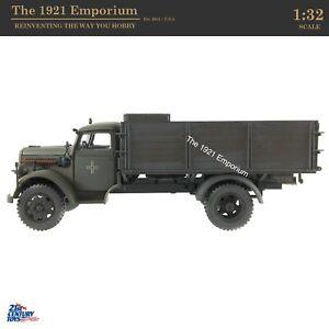 ✙ 1:32 Diecast 21st Century Toys Ultimate Soldier WWII German Opel Blitz Truck