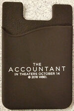 THE ACCOUNTANT movie promo PHONE WALLET + MINTS Ben Affleck Anna Kendrick