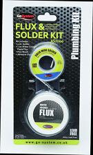 GoSystem Saldatura Senza Piombo & FLUX Kit saldatura Solder Flux Pennello e brasatura Pad