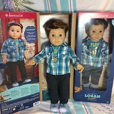 "NEW IN BOX American Girl LOGAN EVERETT - American Girl's First BOY 18"" Doll Band"