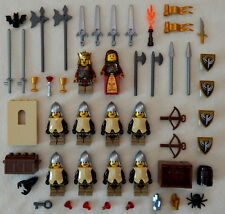 10 NEW LEGO CASTLE KNIGHT MINIFIG LOT Kingdoms hawk figures minifigures people