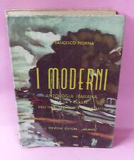I moderni Antologia Italiana - Francesco Pedrina - Trevisani Editore
