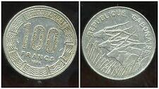 GABON 100 francs 1984  ( bis )