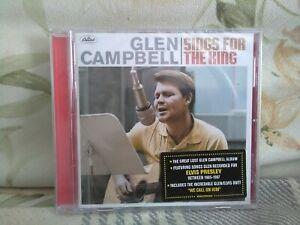 Glen Campbell -  Sings For The King (2018) - New - UK seller - free UK postage