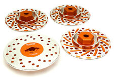C27170ORANGE Integy Alloy 44mm Brake Disc 12mm Hex +3 Offset for 1/10 RC Drift